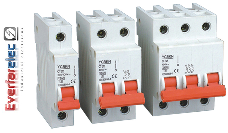 Mini Circuit Breaker Mcb Be Industrial Electrians